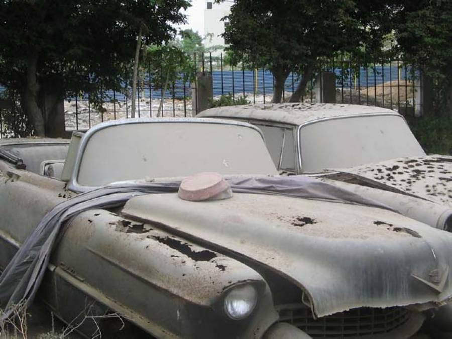 محترمہ فاطمہ جناح کی گاڑیاں اصل حالت میں لانے کیلئے ماہرین کے حوالے