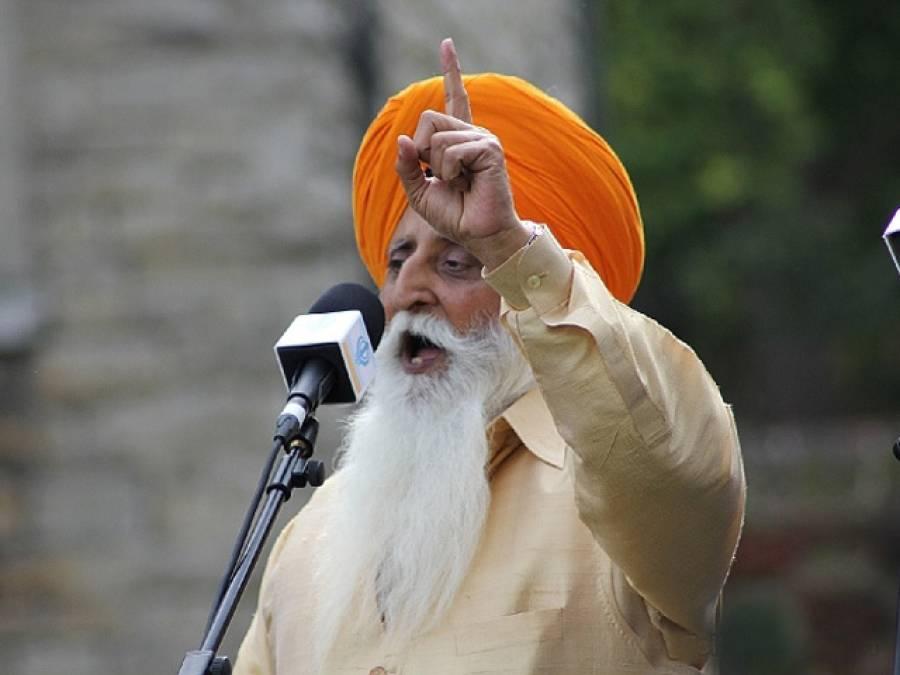 بھارت نوجوانوں کو پاکستان کیخلاف استعمال کرتا ہے: منموہن سنگھ خالصہ