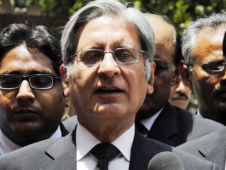 وزارت داخلہ نیشنل ایکشن پلان پر عملدرآمد کرانے میں ناکا م ہو گئی : اعتزاز احسن