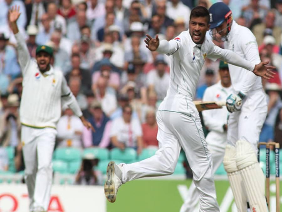 اوول ٹیسٹ،انگلینڈ کی ٹیم 328 رنز بنا کرآؤٹ ،پاکستان کے بیٹسمینوں کا امتحان شروع