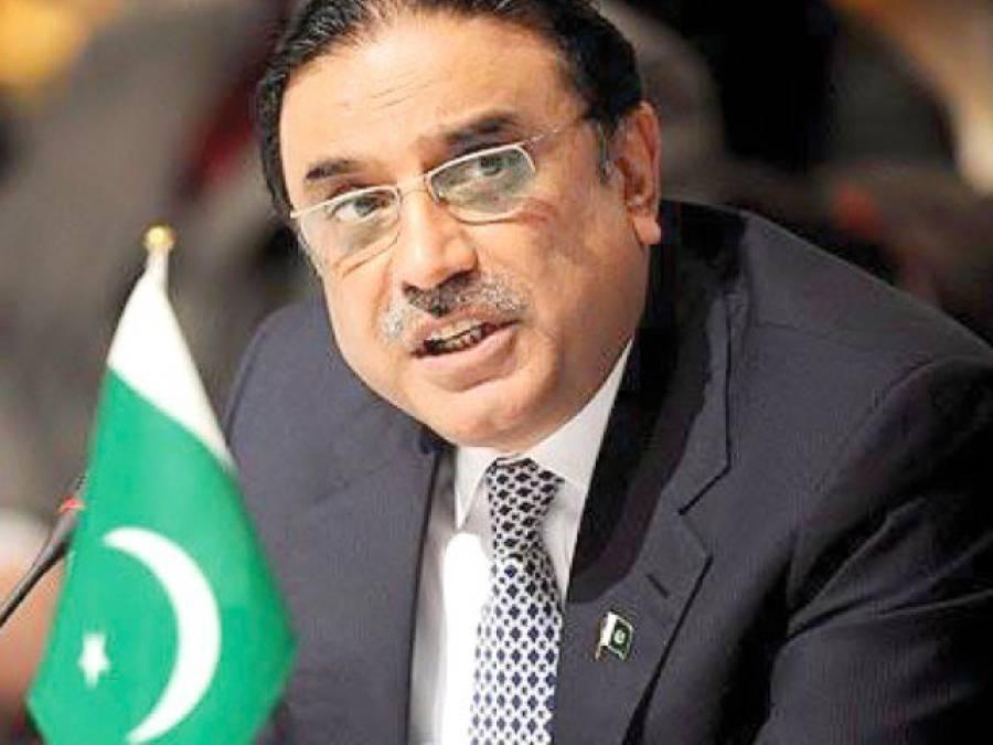 حنیف محمد کے انتقال پر سابق صدر آصف علی زرداری کا اظہار افسوس