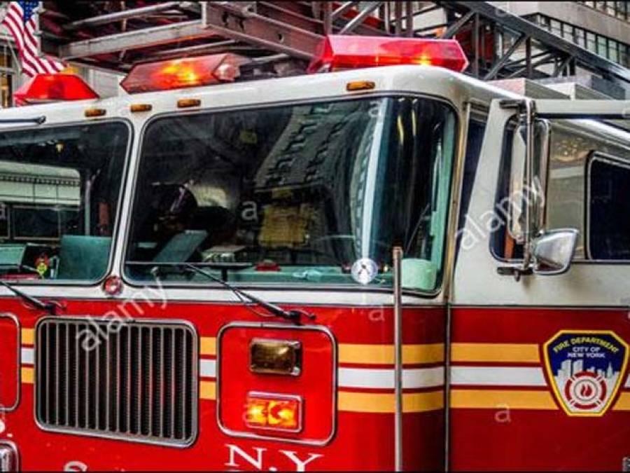 امریکی شہر سلور اسپرنگ کی رہائشی عمارت میں دھماکے کے بعدآگ لگ گئی،30افراد زخمی