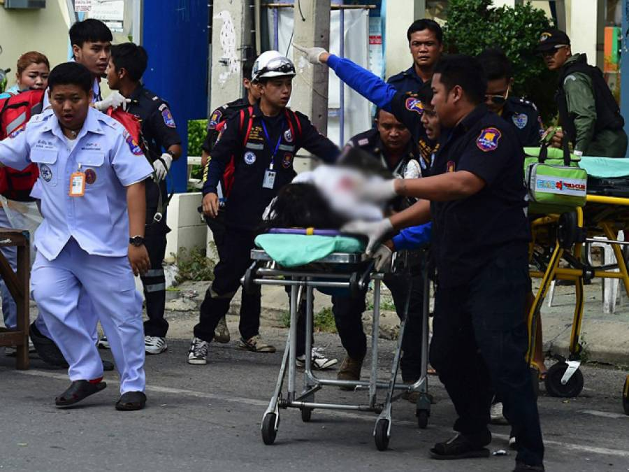تھائی لینڈ بھی دہشتگردی کی زد میں،11دھماکوں میں 4افراد ہلاک