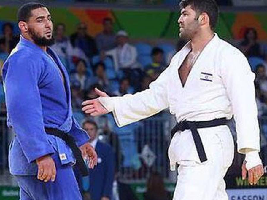 ریو اولمپکس،مصری کھلاڑی کا اسرائیلی حریف سے ہاتھ ملانے سے انکار،کمیٹی نے واپس بھیج دیا