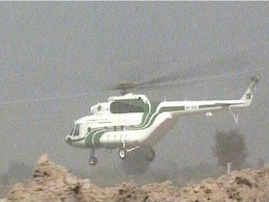 ہیلی کاپٹر پر فائرنگ ہوئی تو لینڈ کرنا پڑا طالبان خود پارا چنار چھوڑ کر گئے :حوالدار کوثر