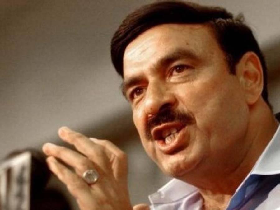 محمود خان اچکزئی نے اسمبلی میں بیان وزیراعظم نوازشریف کے کہنے پر دیا:شیخ رشید