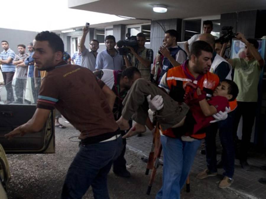 مقبوضہ بیت المقدس ،نہتے فلسطینیوں پر اسرائیلی فوج کی فائرنگ ،ایک فلسطینی شہید ،35سے زائد زخمی