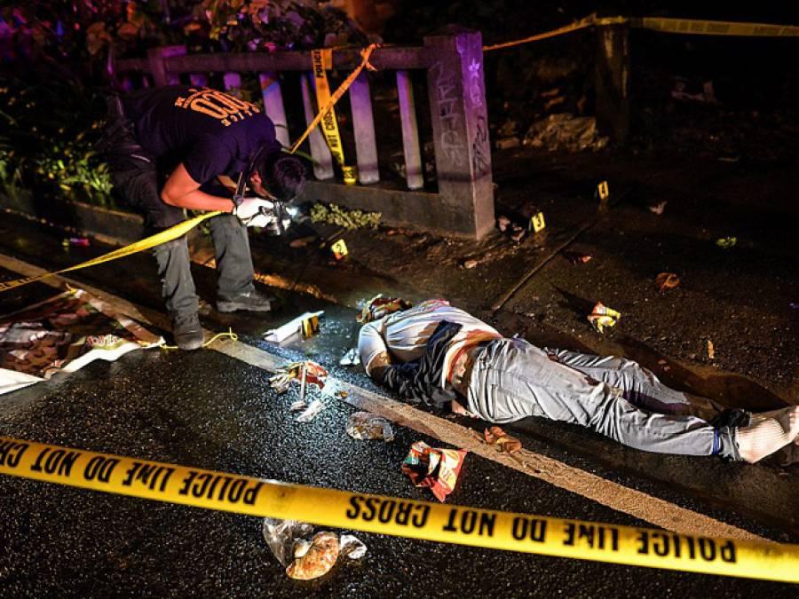 فلپائن میں منشیات کے سمگلرز کے خلاف آپریشن،گلیاں لاشوں سے بھرنے لگیں