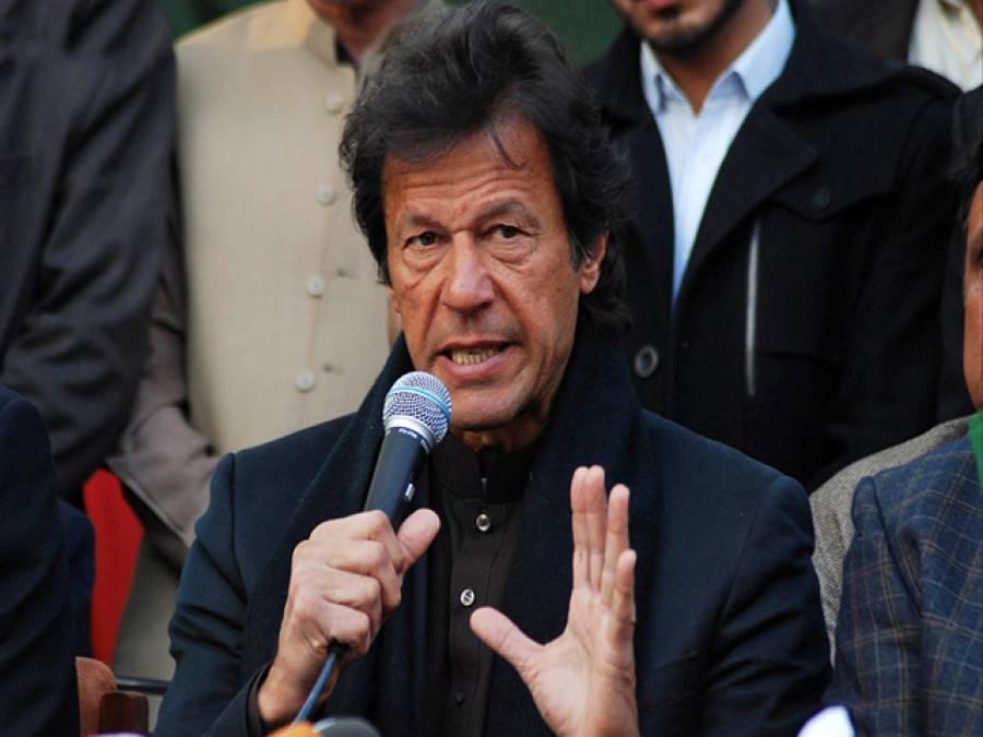 الطاف حسین نے را کے ساتھ مل کر کراچی کو نقصان پہنچایا ،مہاجروں کے ساتھ کھڑا ہوں :عمران خان