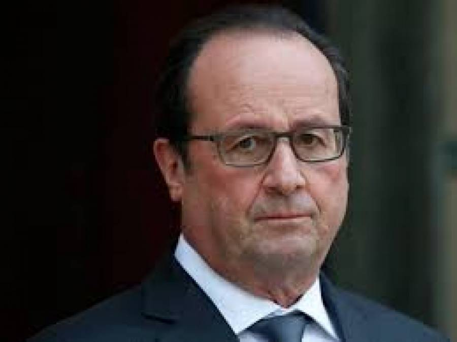 فرانس کے صدر فرانسس اولاندکی شمالی عراق کی کرد انتظامیہ کے صدرمسعود بارزانی سے ملاقات