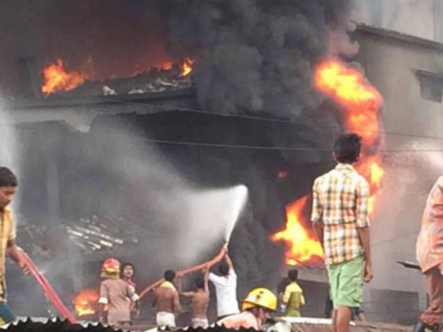 ڈھاکا فیکٹری میں آتشزدگی، ہلاکتوں کی تعداد 21 ہوگئی