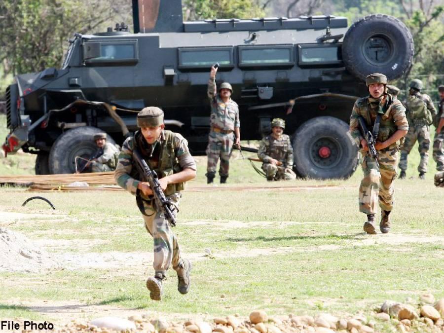 مقبوضہ کشمیر : تحریک المجاہدین کا سی آر پی ایف کے کیمپ پر حملہ،کئی اہلکاروں کے ہلاک و زخمی ہونے کی اطلاعات