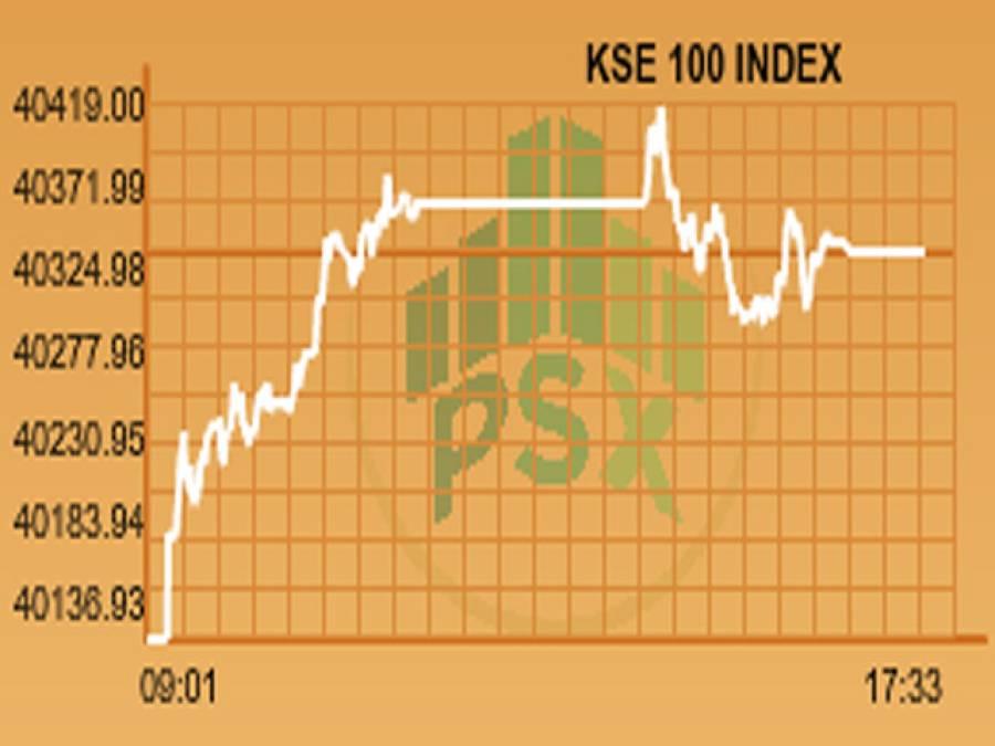پی ایس ایکس میں مثبت رجحان ،100انڈیکس 40ہزار 330پوائنٹس پر بند
