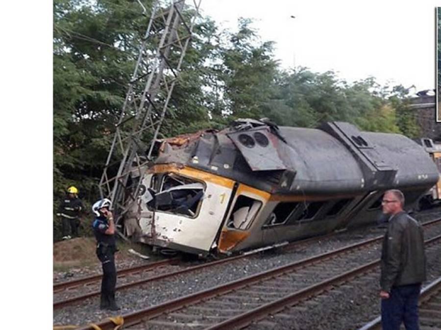 سپین میں ٹرین بجلی کے کھمبے سے ٹکرا گئی: چھ افراد ہلاک ، ہلاکتوں میں اضافے کا خطرہ