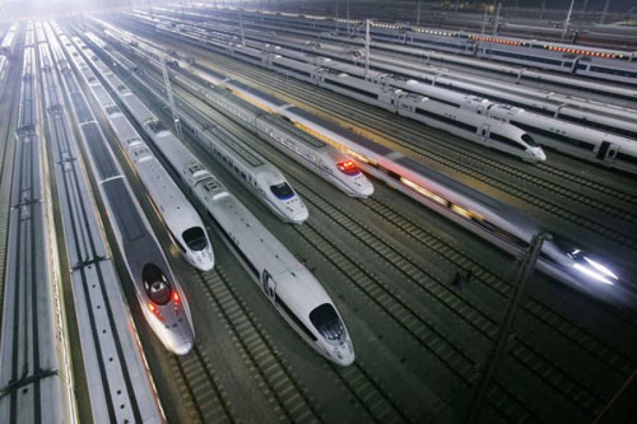 چین بیس ہزار کلومیٹر تیز رفتار ریلوے سسٹم رکھنے والا پہلا ملک بن گیا