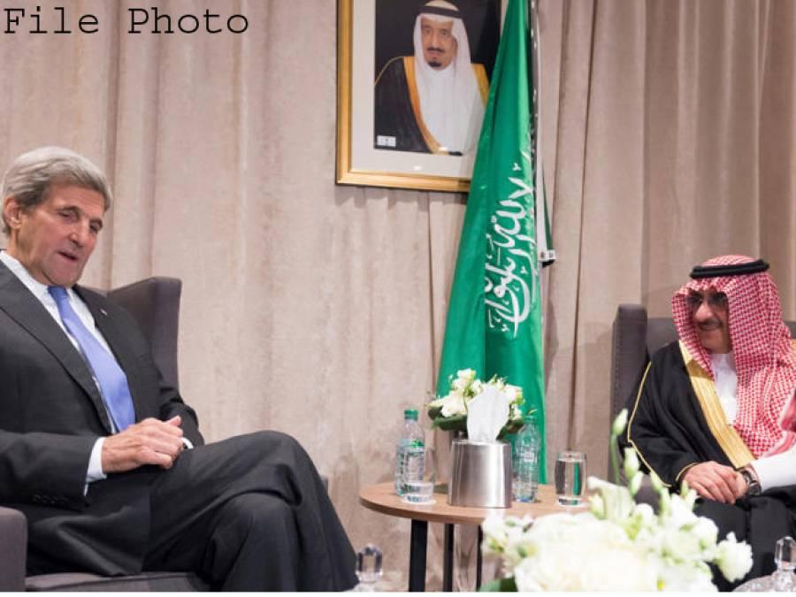 سعودی ولی عہد کی جان کیری سے ملا قات، مشرق وسطیٰ میں جنگوں کے خاتمے پر تفصیلی تبادلہ خیال