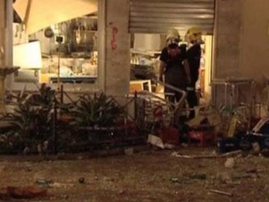 سپین : ہوٹل میں دھماکہ،77افراد زخمی