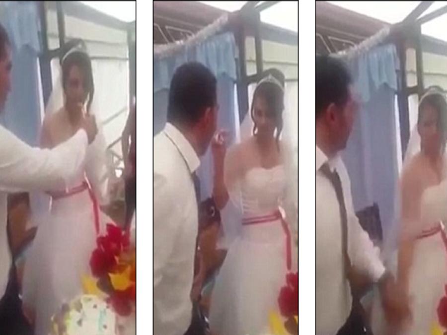 دولہے نے عمومی طور پر شادی کے بعد کیا جانے والا 'کام'شادی کی تقریب میں ہی کر دیا،شرکاءکی آنکھیں پھٹی کی پھٹی رہ گئیں