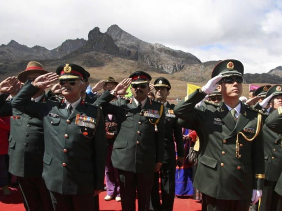 چین اور بھارت نے مشترکہ فوجی مشقوں کا اعلان کر دیا