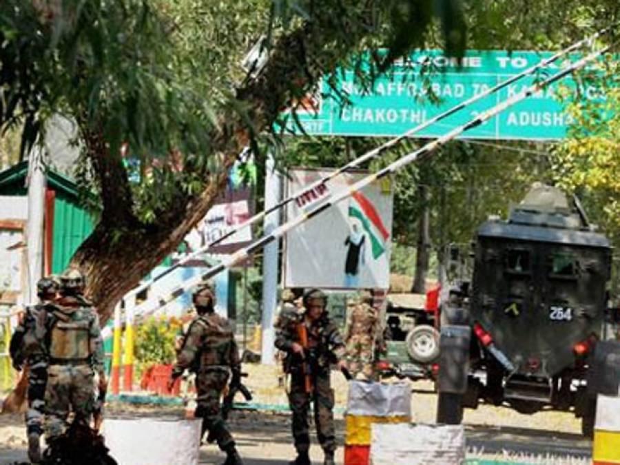 بھارت کا ایک اور ڈرامہ،ہندواڑہ میں فوجی کیمپ پر حملے کا واویلا،دو مجاہدین شہید کرنے کا دعویٰ