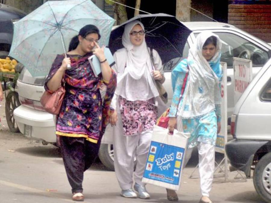 آج میدانی علاقوں میں موسم گرم ، پنجاب اور کشمیر سمیت بیشتر مقامات پر بارش کا امکان ہے : محکمہ موسمیات