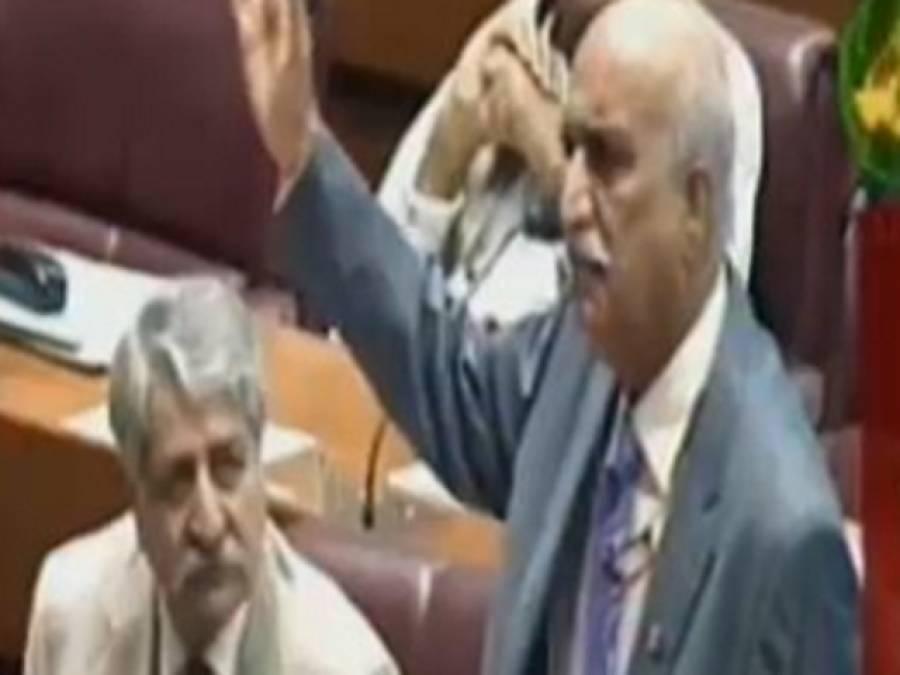 کشمیر ایشو کو متنازع نہیں بنانا چاہتے ، حکومت کیوں پاﺅں پر کلہاڑی مار نا چاہتی ہے : خورشید شاہ