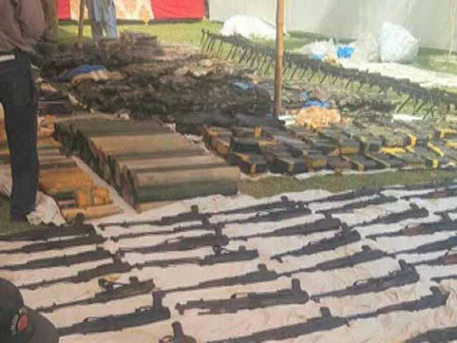 پکڑا جانے والا اسلحہ الطاف حسین کا ہے' ذمہ دار پرویز مشرف ہے: مشاہد اﷲ خان