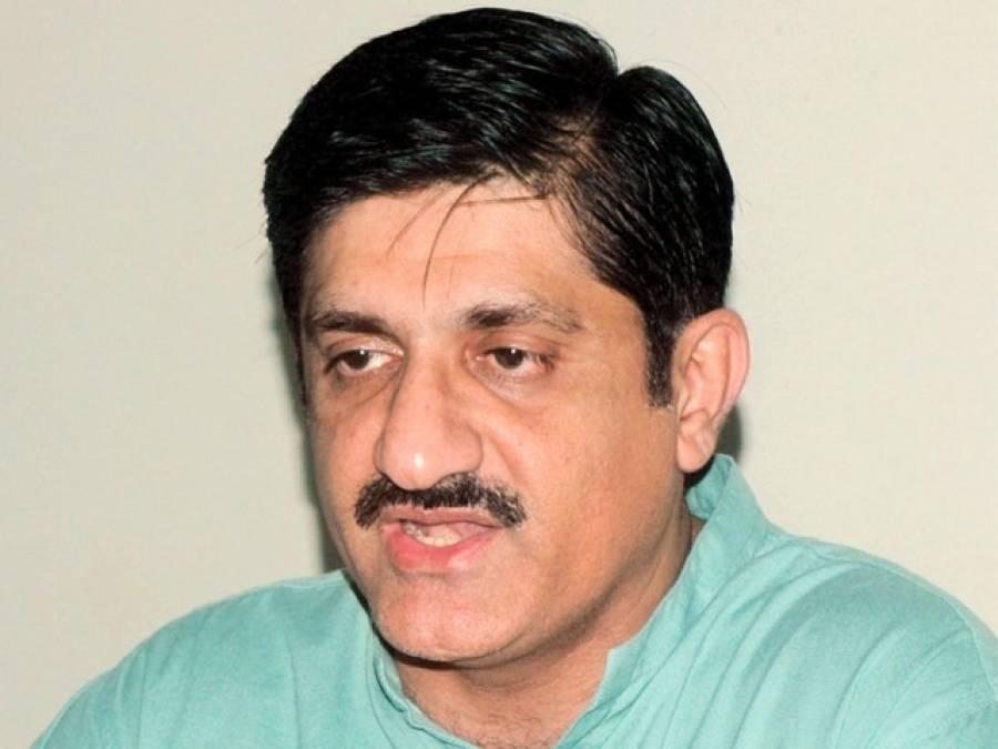 وزیراعلیٰ سندھ نے ڈی جی رینجرز سندھ کو عزیز آبا دسے ملنے والے اسلحے کی مزید تحقیقات کی ہدایت کردی