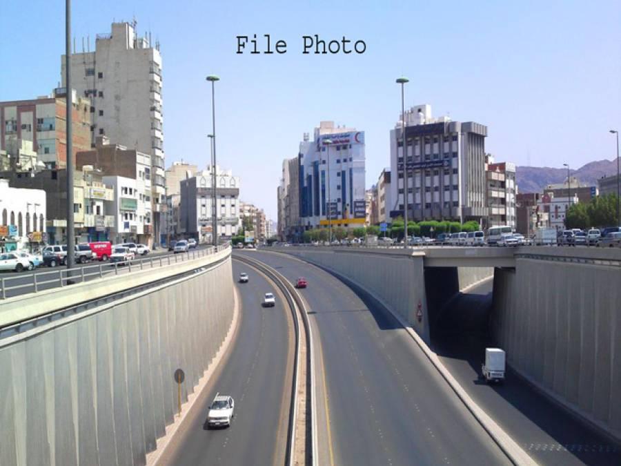 سعودی عرب،ٹریفک حادثے میں ایک ہی خاندان کے 6 افراد جاں بحق