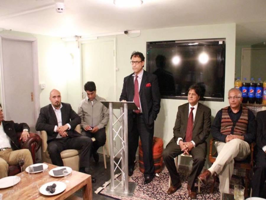 دی کونسل آف فارمر پریذیڈنٹس آف یوکے پاکستان چیمبر آف کامرس اینڈ انڈسٹری کی طرف سے پاکستان پریس کلب یوکے و یورپ کے نئے عہدیداروں کے اعزاز میں عشائیے کا اہتمام