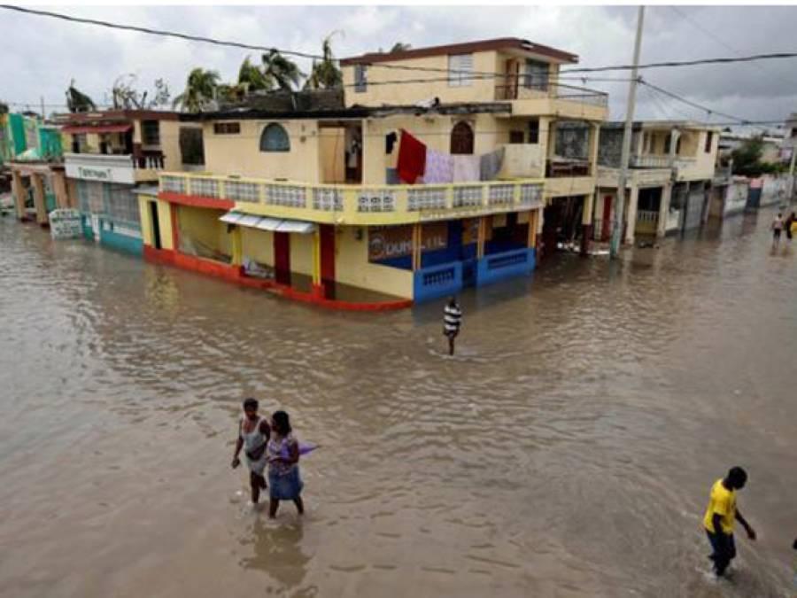 طوفان سے ہیٹی میں 28ہزار گھر تباہ،112افراد ہلاک