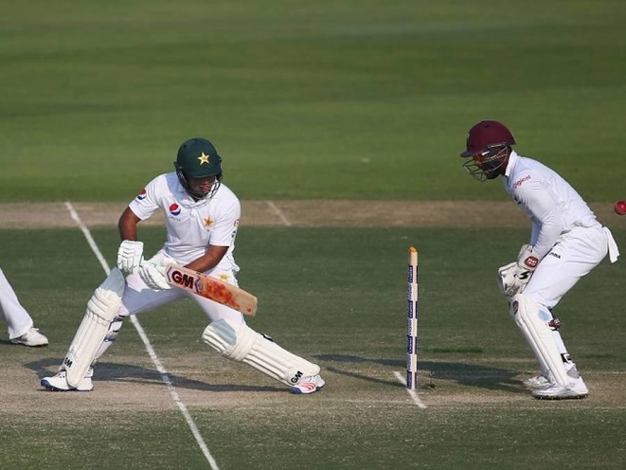 دوسراٹیسٹ،تیسرے روز کا کھیل ختم،پاکستان نے ایک وکٹ کے نقصان پر 114رنز بنا لیے،342رنز کی برتری