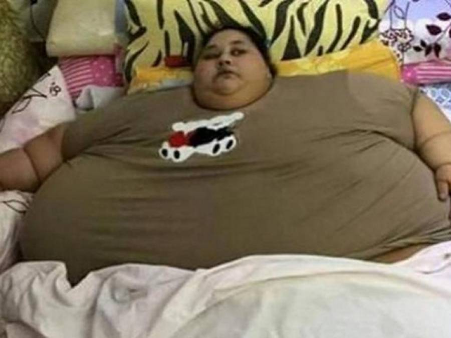 500 کلو وزن، مصر کی ایمان احمد دنیا کی فربہ ترین خاتون، 25 برس سے بستر پر ہے: میڈیا