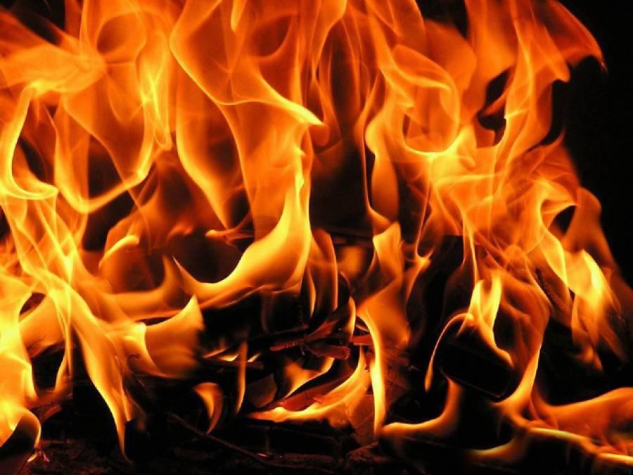 ریٹائرڈ سپاہی نے گھر جلا کر پارک میں خودکشی کر لی، 3افراد زخمی