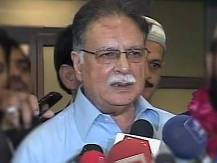 قومی سلامتی کے اجلاس میں عمران خان اور اعتزا زاحسن کے وزراءاعلیٰ بھی موجود تھے : پرویز رشید
