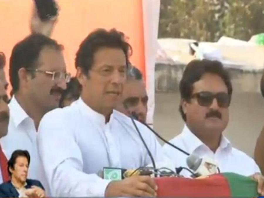 عمران خان کبھی جھکا نہ پاکستانی قوم جھکے گی ، اسلام آباد میچ سب سے بڑا ہے : عمران خان
