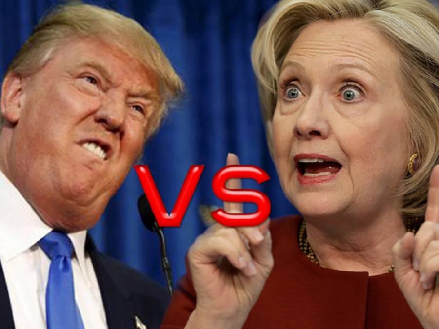 امریکہ میں صدارتی الیکشن 4 روز بعد، ہیلری اور ٹرمپ میں کانٹے کا مقابلہ
