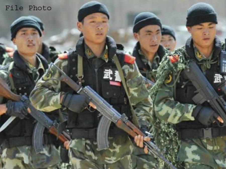 چینی فو ج نے لداخ میں پانی کے بھارتی منصوبے پر کام رکوا دیا