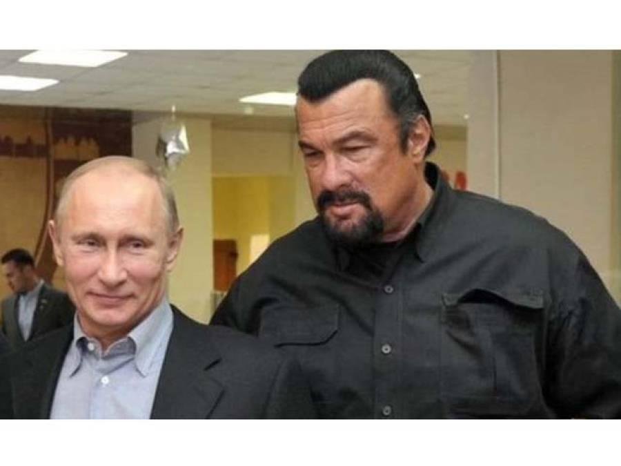 روس نے امریکی اداکار سٹیون سیگل کو روسی شہریت دیدی