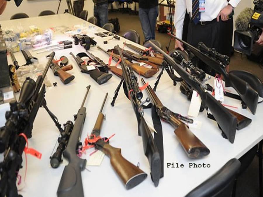 مچنی سے 23 مشتبہ دہشتگرد گرفتار، بھاری مقدار میں اسلحہ و گولہ بارود برآمد