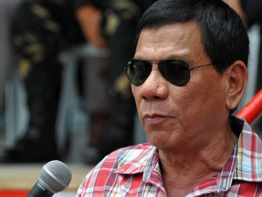 فلپائنی صدر نے ٹرمپ زندہ باد کا نعرہ لگادیا امریکہ کے ساتھ مزید جھگڑا نہ کرنے کا اعلان