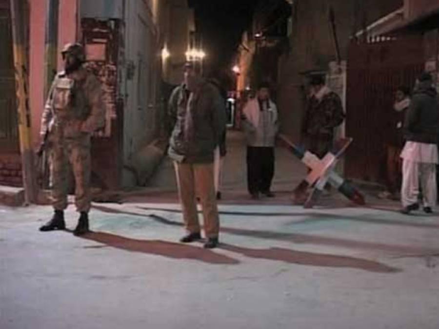 ایف سی اور حساس ادارے کی ڈیرہ مراد جمالی میں کارروائی ،کالعدم تنظیم کے 2 شرپسنداسلحہ سمیت گرفتار