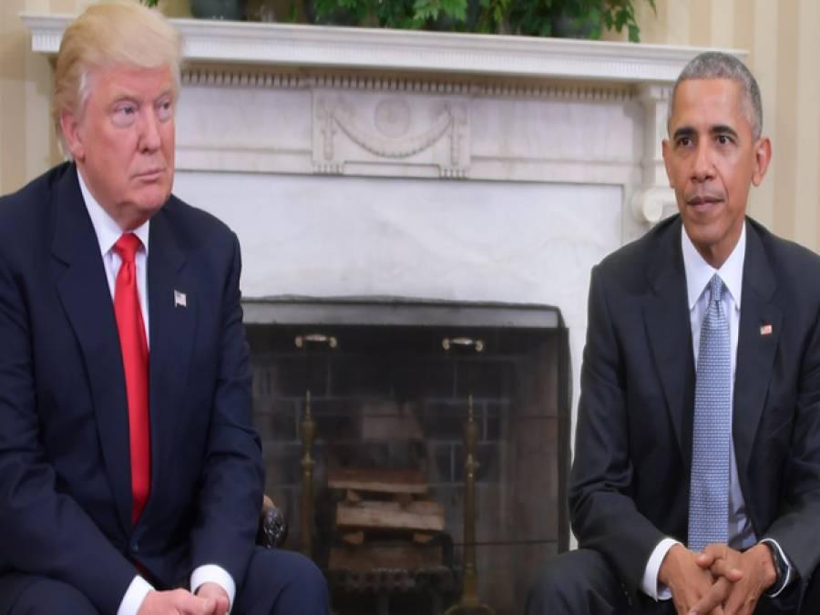 نو منتخب صدر کیلئے راہ ہموار کر رہے ہیں، اوباما، ان سے مستقبل میں بھی ملاقاتیں کروں گا: ٹرمپ