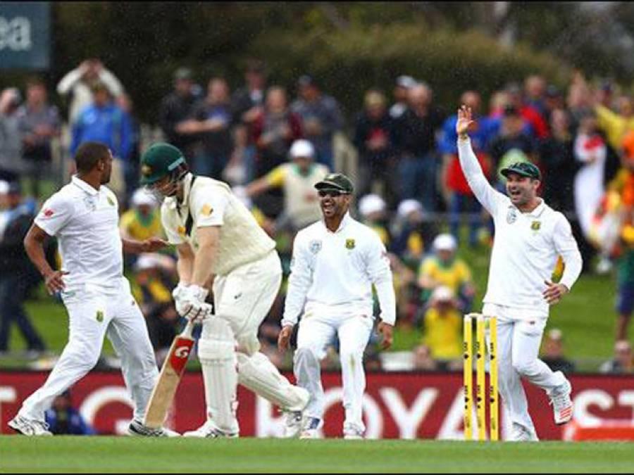ہوبارٹ ٹیسٹ:جنوبی افریقہ نے آسٹریلیا کو 85رنز پر ڈھیر کر دیا