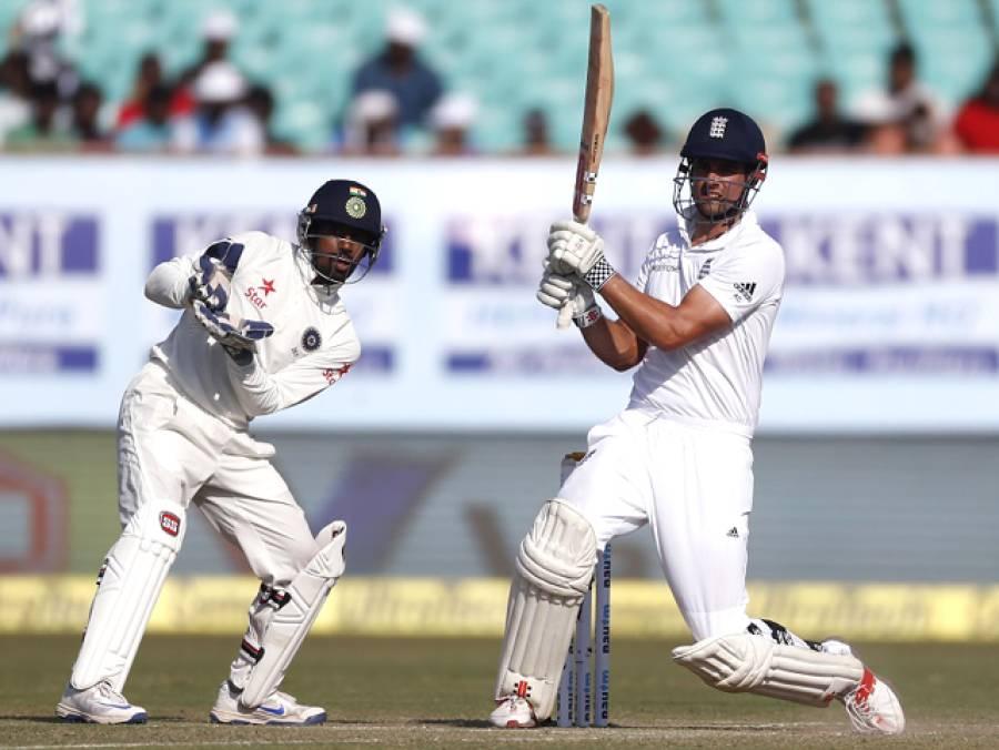 پہلا ٹیسٹ: چو تھے روز کا کھل ختم، انگلینڈ نے بغیر کسی نقصان کے 114 رنز بنا لئے، بھارت کیخلاف 163 رنز کی برتری