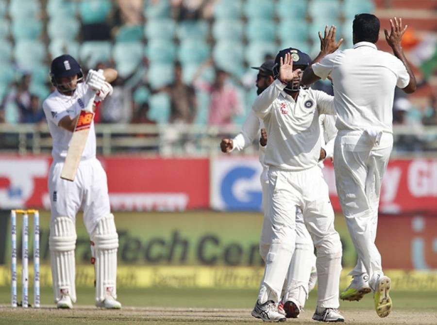 دوسرا ٹیسٹ: انگلینڈ کو 246 رنز سے شکست، بھارت نے پانچ میچوں کی سیریز میں 1-0 کی برتری حاصل کر لی