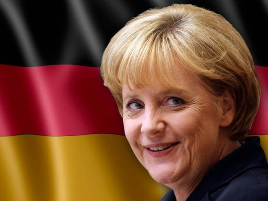 جرمن چانسلر انجیلامرکل نے جرمنی میں حجاب پر پابندی کا اشارہ دے دیا