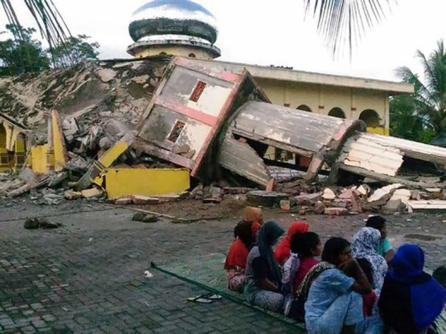 انڈونیشیا کے جزیرے سماٹرا میں شدید زلزلہ ، عمارتیں گرنے سے 52افرا د ہلاک ، متعدد زخمی اور لاپتہ