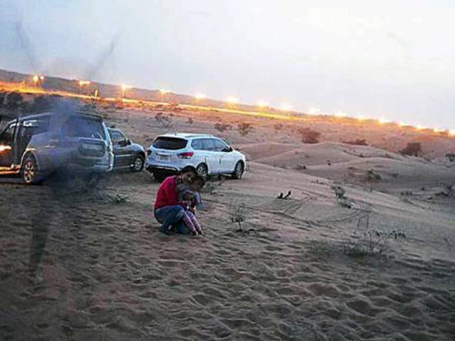 متحدہ عرب امارات میں بنائی جانے والی ماں بیٹی کی اس تصویر میں ایسی کیا خوفناک بات ہے کہ جس کو دکھائی جائے خوفزدہ ہوجاتا ہے؟ جان کر آپ بھی ڈر جائیں گے
