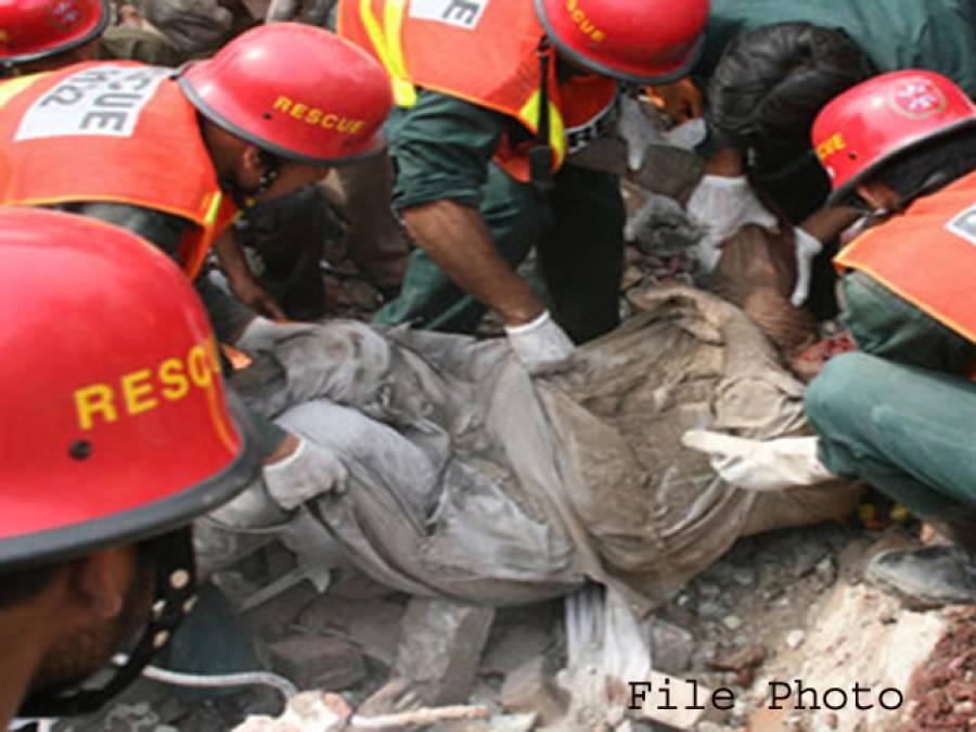 کراچی کے علاقے پہلوان گوٹھ میں سلنڈر دھماکا ، 2افراد زخمی